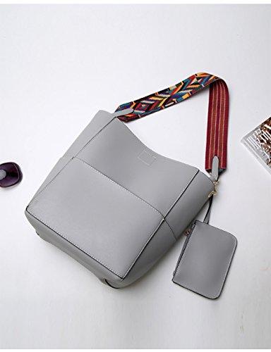 TSRHFGT And Bucket Lightgrey Handbags For Handbag Hobo Shoulder Tote Women Bag Purse pcfwgqZ1p