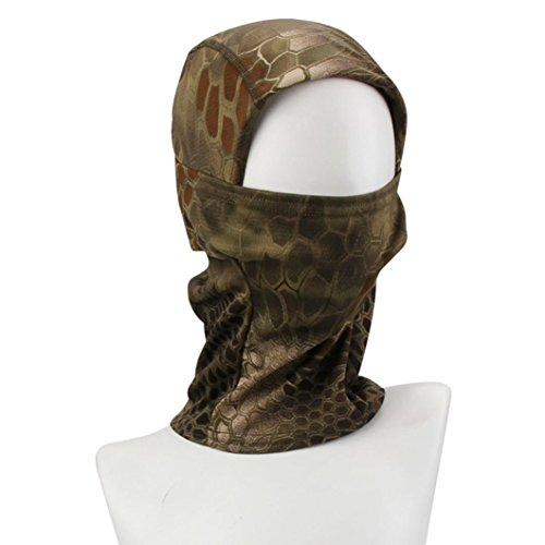DDLBiz Camouflage Cycling Motorcycle Balaclava