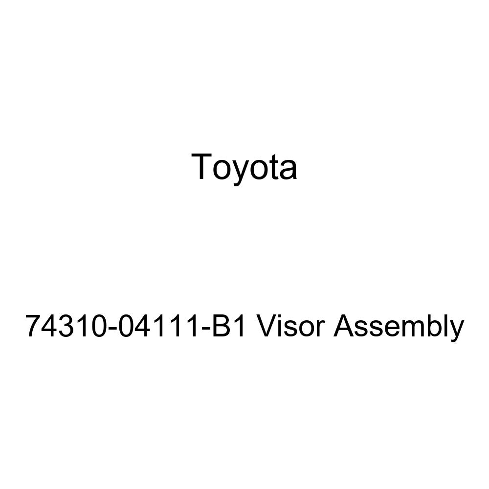 Toyota Genuine 74310-04111-B1 Visor Assembly