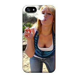 Case Cover Blowing Smoke/ Fashionable Case For Iphone 5/5s by supermalls