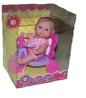 My Sweet Love Lots to Love Mini Baby on Tricycle Playset by My Sweet Love