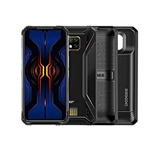 DOOGEE S95 Pro Super Module 2020 Rugged Unlocked Smartphones, 4G Helio P90 8GB+128GB IP68 Waterproof Rugged Cell Phones Dual SIM Android 9.0, 48MP+8MP+8MP+16MP AI Camera 6.3 inch, 5150mAh+3500mAh NFC