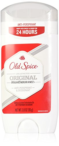 Old Spice High Endurance Anti-Perspirant/Deodorant Invisible Solid, Original Scent - 3 oz -  1204400023