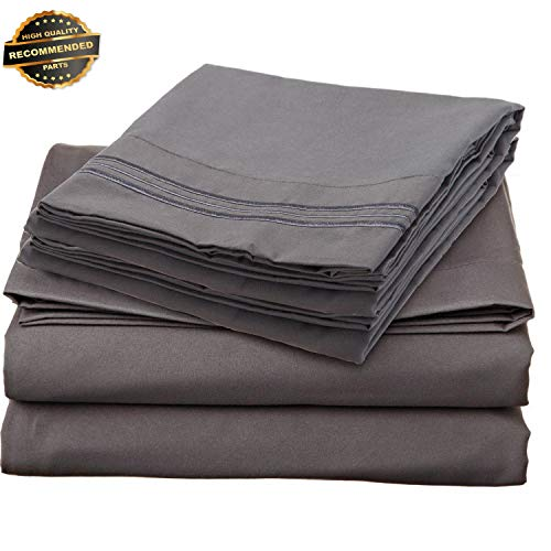 (Gatton Premium New 1700 Series DEEP Pocket 4 Piece Bed Sheet Set - 19 Colors Available in Collection SHSCZ-18212287)