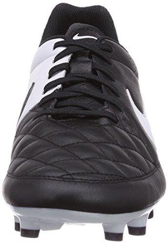 black Genio white Firm Tiempo Leather Men's Black Ground Football Boots Nike q4v5Pwxz4