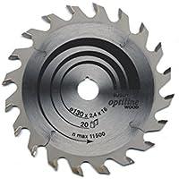 Bosch Professional Cirkelsågblad Optiline Wood (för trä, 130 x 20 x 2,4 mm, 20 tänder, tillbehör cirkelsåg)