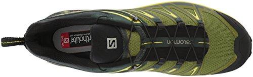 Salomon X Ultra 3, Stivali da Escursionismo Uomo Verde (Darkest Spruce/Guacamole/Sulphur Sp)