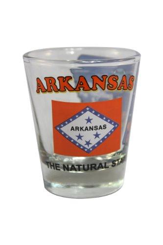 Arkansas Shot Glass - Souvenir Shot Glass - Arkansas