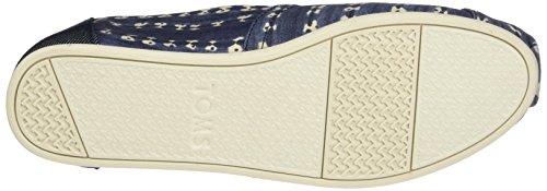TOMS Womens Classic Casual Shoe Navy Batik Stripe evT5RPj8K