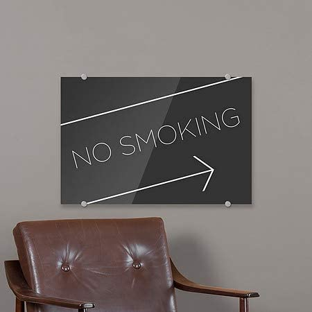 CGSignLab 2463887/_5absw/_16x16/_None Modern Gradient Premium Acrylic Sign 16x16 We Accept Credit