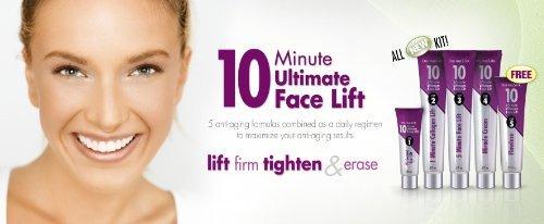 (Pack of 2) DERMASILK 10 MINUTE ULTIMATE FACE LIFT Tighten Firm ERASE