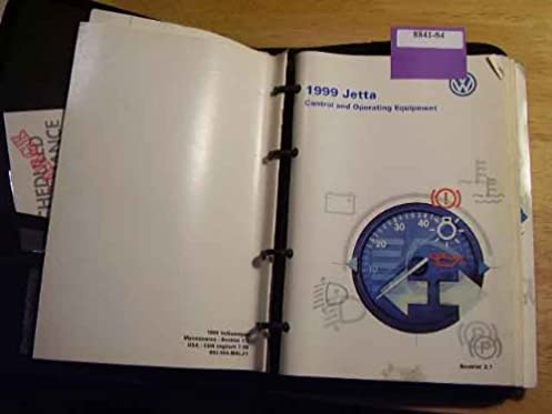 1999 vw volkswagen jetta owners manual volkswagen amazon com books rh amazon com jetta owners manual 2001 free download jetta owners manual 2016