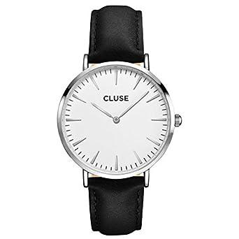785a9411722be3 cluse Femme Cl18208 Noir Sangle la montre à quartz BOHEME Cl18208 ...
