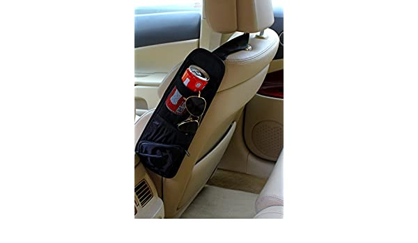 ... funda Organizador bw001 - Respaldo auto Bolsa Utensilios Bolsa para asiento trasero con estante para Auto asiento red Cintas Funda & Portavasos Incluye ...