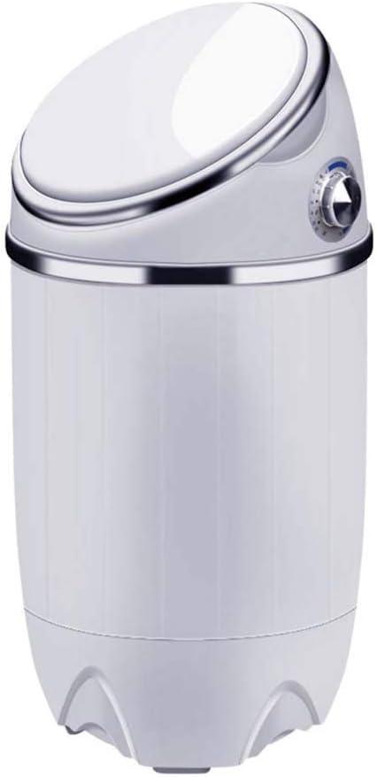 Atten Mini Lavadora compacta de lavandería Lavadora: Ventanilla única de hidromasaje ciclos de la Secadora Basket y la Manguera de desagüe de Apartamentos, dormitorios, Camping, 3,5 kg RV