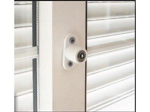 Cerradura de ventanas correderas (Blanco): Amazon.es: Industria, empresas y ciencia