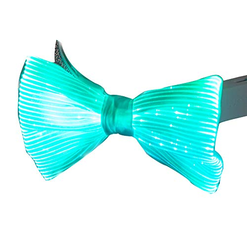 Light Up Bow Tie 7 Glow Colors LED