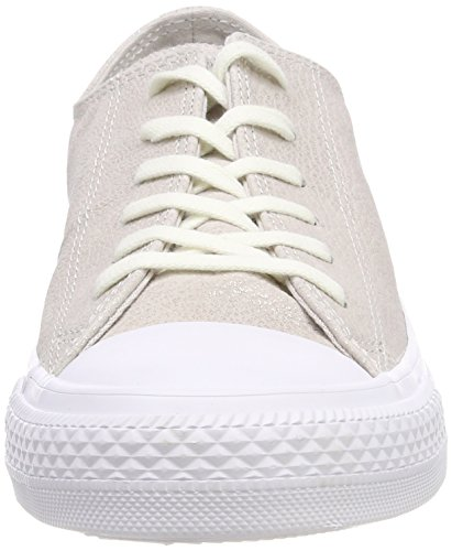 Putty Silver Taylor Fitness Shoes Beige Nubuck Chuck Women's White CTAS Ox 036 Pale Converse vAqHPxx