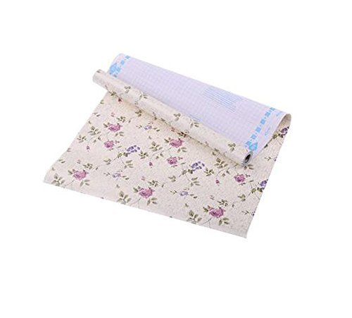 Self-Adhesive Waterproof Drawer Pad/Kitchen Table Cabinet Drawer Liner Mat Pefectly for Wardrobe Shelves, Drawers And Counters Using (Bulk Contact Paper)