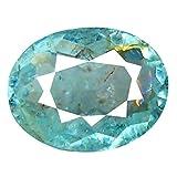 0.45 ct Oval Cut (6 x 5 mm) Brazilian Copper Bearing Paraiba Tourmaline Unheated Natural Loose Gemstone