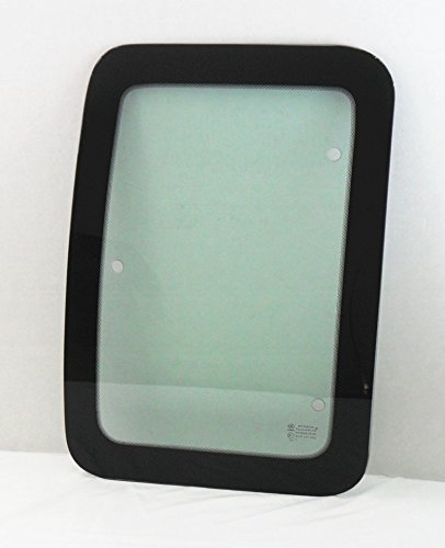 (TYG Fits 2000-2016 Ford F250 F350 F650 F750 & 2003-2016 F450 F550 2 Door Super Cab Pickup Passenger Side Right Rear Access Door Quarter Glass Window)
