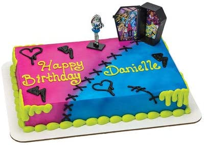 Awesome Amazon Com Frankiestein Monster High Birthday Cake Kit Kitchen Funny Birthday Cards Online Alyptdamsfinfo