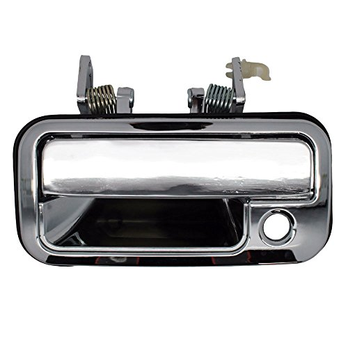 Outside Door Handle - Front Left Driver Exterior - Chrome
