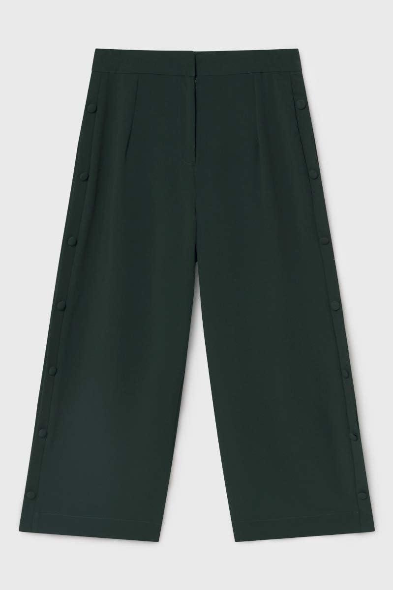 Blue age Wide Cut Trousers for Women