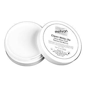 Mehron- Clown White Lite (2 .25 oz)
