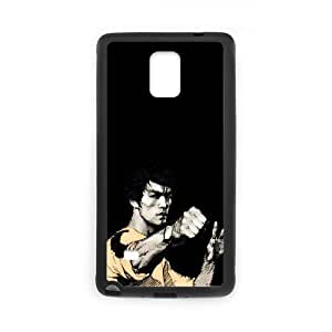 ANCASE Custom Color Printing Bruce Lee Phone Case For Samsung Galaxy note 4 [Pattern-1]