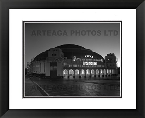 St. Louis Arena 'The Old Barn' - Original Photography Print - Arteaga Photos - 24''x28'' Framed Double Matted Print by Arteaga Photos
