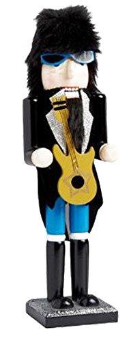 Gift For A Musician – 15 Inch Rock Star Nutcracker ()