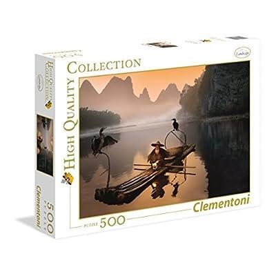 Clementoni 35022 Puzzle Landscape Cinese Metz 500 Pezzi Multicolore