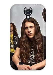 Jose de la Barra's Shop Best High Impact Dirt/shock Proof Case Cover For Galaxy S4 (black Tide)