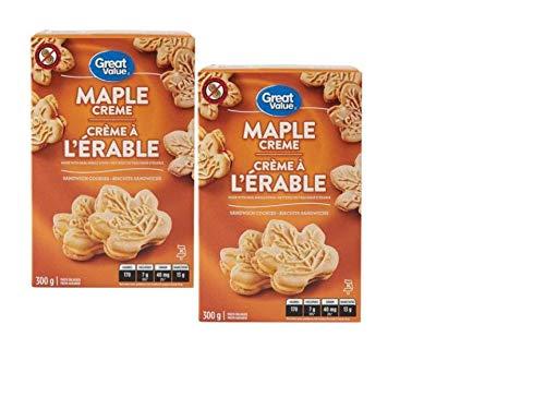 Great Value Maple Creme Sandwich Cookies - 2 - Sandwich Cookie Maple