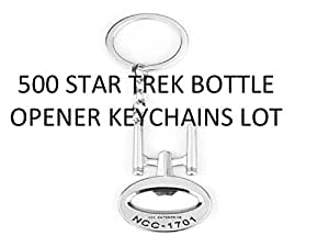 500 Star Trek Bottle Openers Lot