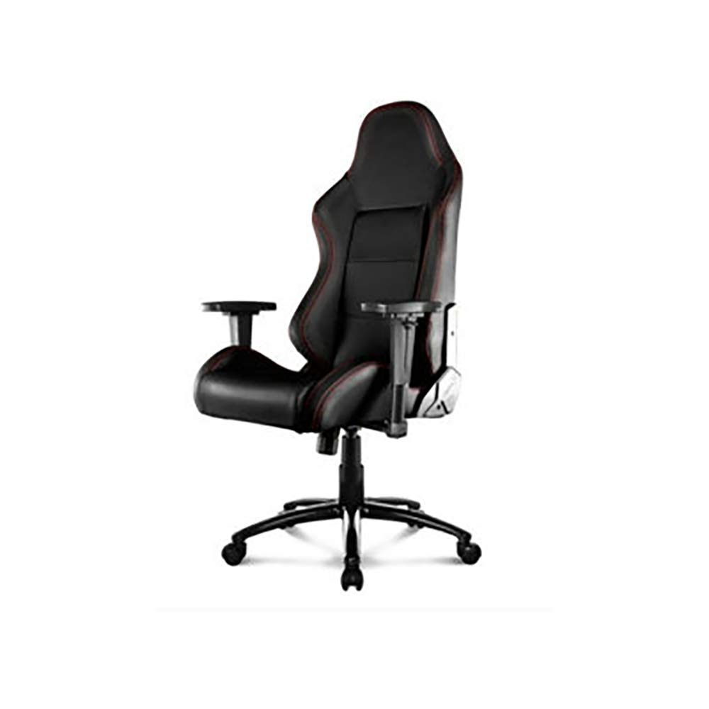 LITING E-Sports ChairExecutive Office Chair Modern Racing Gaming Chair with Adjustable Armrests&Reclining Function High Back Ergonomic Seat 360° Rotation(Black) by LITING
