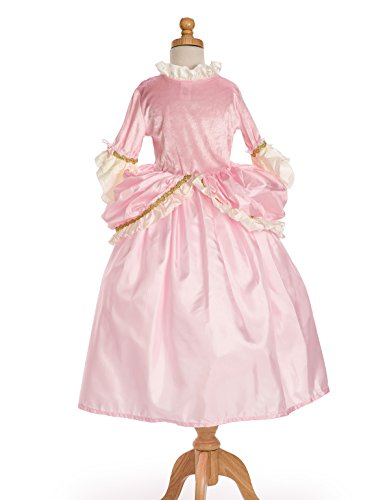 Little Adventures Traditional Pink Parisian Girls Princess Costume – Small (1-3 Yrs)