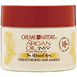 Creme Of Nature Argan Oil Strengthen Hair Masque 11.5 Ounce (340ml)
