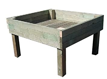 Garden At Home 3ft X 3ft Raised Bed On Legs