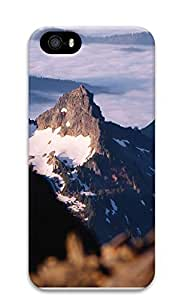 iPhone 5 5S Case landscapes nature snow mountain 15 3D Custom iPhone 5 5S Case Cover by lolosakes