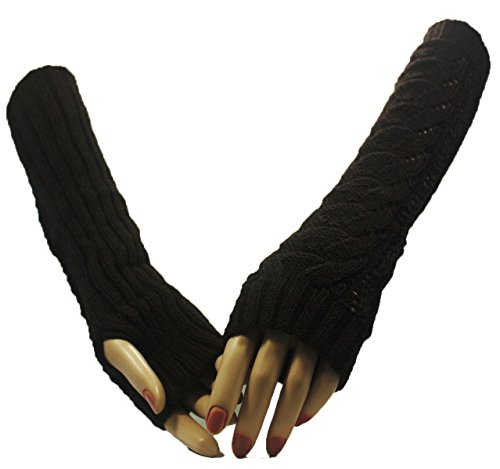 Brown Wonderland Arm Warmer Gloves