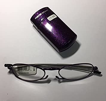 82b8ec627f5 Image Unavailable. Image not available for. Color  Foster Grant Fold-able Reading  Glasses ...
