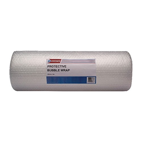 Image of Bubble Wrap GoSecure PB02289 500 mm x 10 m Large Bubble Wrap Roll - Clear