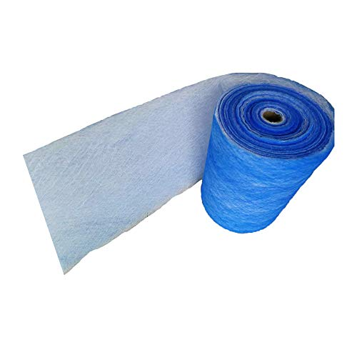 Paint Booth Exhaust Filter Roll, 25''x 100 ft, Spray Booth Filter, Fiberglass Paint Arrestor for Air Filter System(18 Gram) by Msfilter (Image #4)