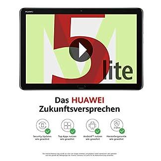 Huawei MediaPad M5 lite WiFi Tablet-PC 25,6 cm (10,1 Zoll), Full HD, Kirin 659, 3 GB RAM, 32 GB interner Speicher, Android 8.0, EMUI 8.0, grau 12