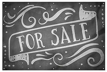 9x6 Chalk Banner Heavy-Duty Outdoor Vinyl Banner for Sale CGSignLab