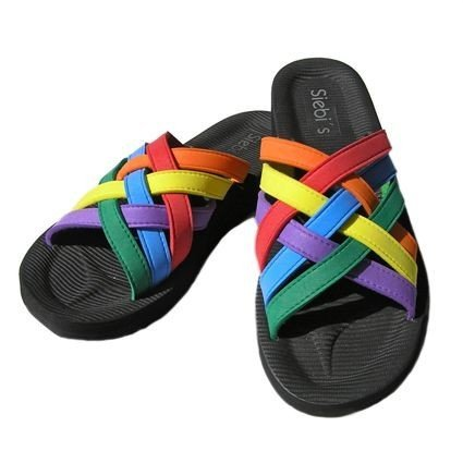 Siebi's Playa Multi Zapatillas Baño Mujer - Multicolor, mujer, 42 EU