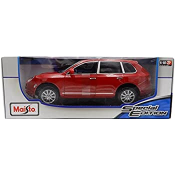 Porsche Cayenne Red Special Edition 1:18 Scale Diecast Model by Maisto