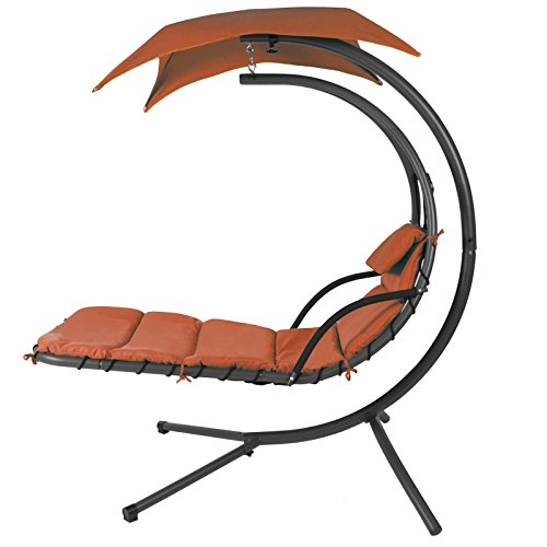 hanging chaise lounger chair arc